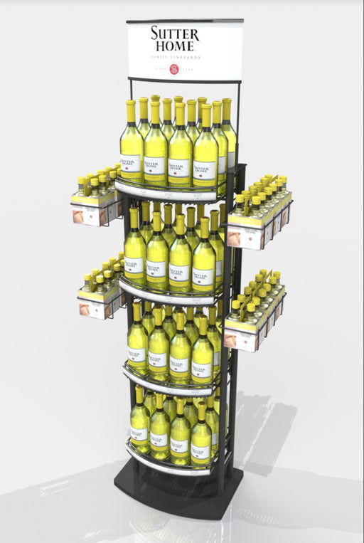 4 Case Wine Tower