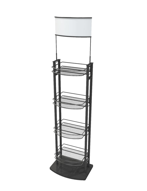 FWTV-4C - 4 Case Wine Tower