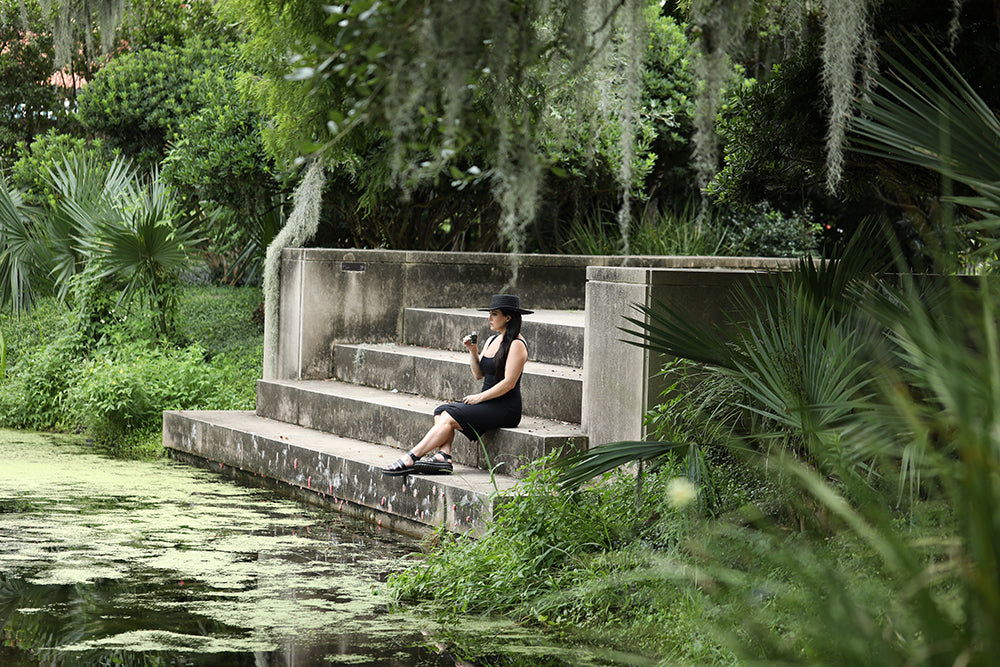 Kush Queen CEO, Olivia Alexander in New Orleans' City Park