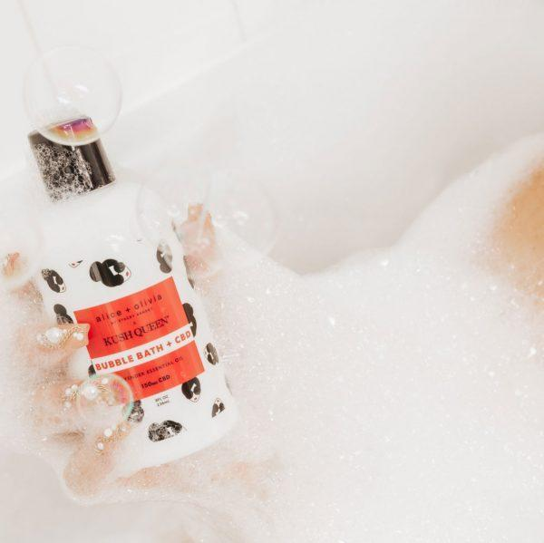 Kush Queen Topical Alice + Olivia CBD Bubble Bath