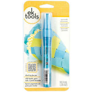 E5500012 EK/Zig 2-Way Glue Pen Chisel Tip