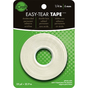 "iCraft Easy-Tear Tape 1/4"" x 27yds"