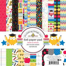 SCH4698 Back to School 6x6 Paper Pad