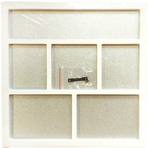 "Foundations Decor Magnetic Shadow Box 12""X12"" White"