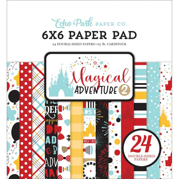 AG177023 Magical Adventure 2 6x6 Paper Pad