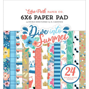 IS210023 Dive Into Summer 6x6 Paper Pad