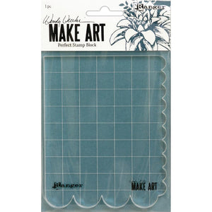 WVA69126 Make Art Perfect Stamp Block