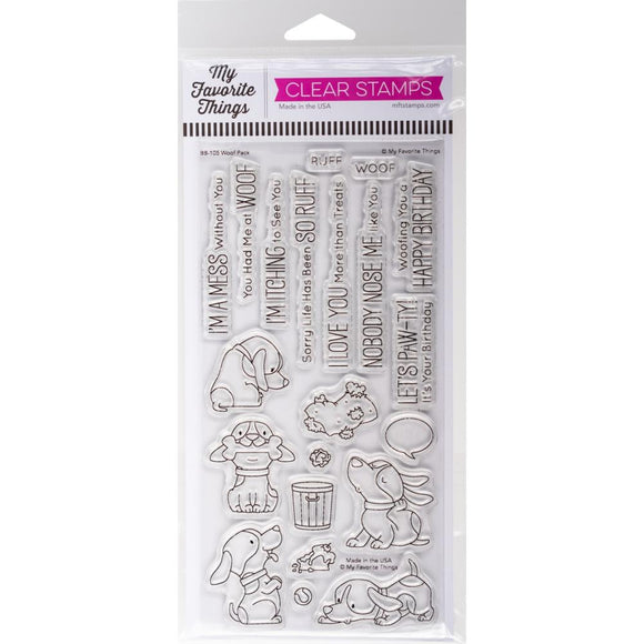 BB-105 Woof Pack Stamp Set