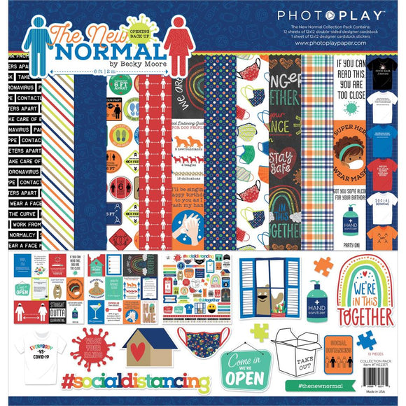 PhotoPlay The New Normal 12x12 paper pack