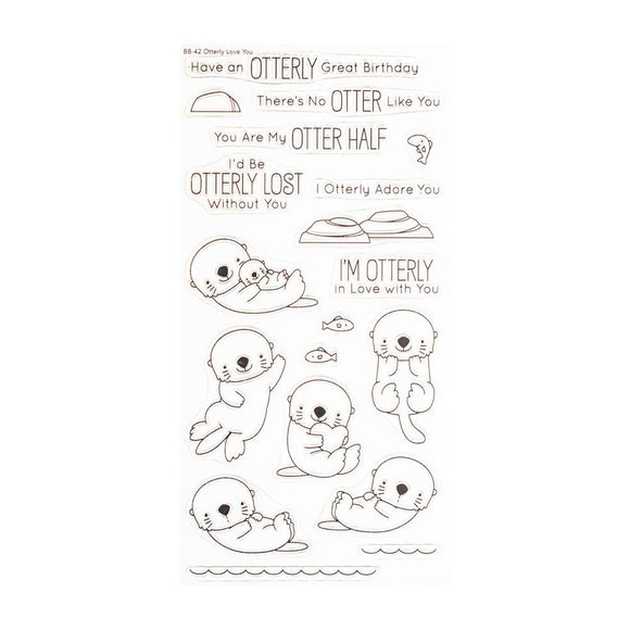 BB-42 Otterly Love You Stamp Set