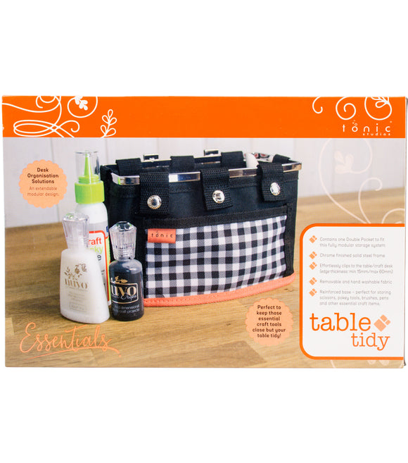 Tonic Studios Table Tidy Double Pocket