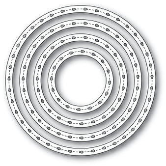 2068 Stitchwork Circle Frames craft die