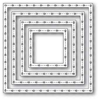 2070 Stitchwork Square Frames craft die