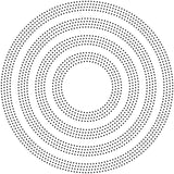 2080 Pinpoint Rings craft die