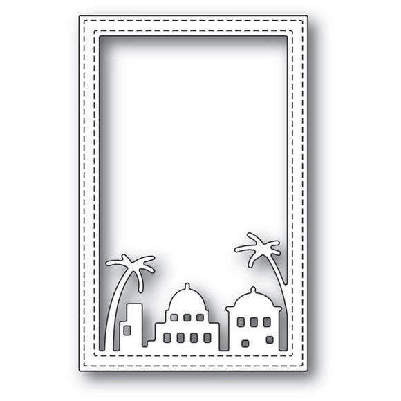 2134 Simple Bethlehem Stitched Frame craft die
