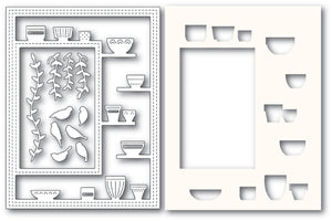 2176 Greenhouse Potted Plants Sidekick Frame and Stencil