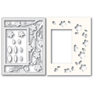 2223 Blooming Branches Sidekick Frame and Stencil