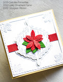 2229 Delicate Poinsettias craft die