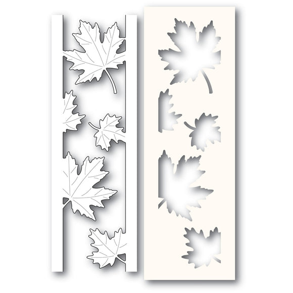 2236 Maple Leaf Side Strips and Stencil