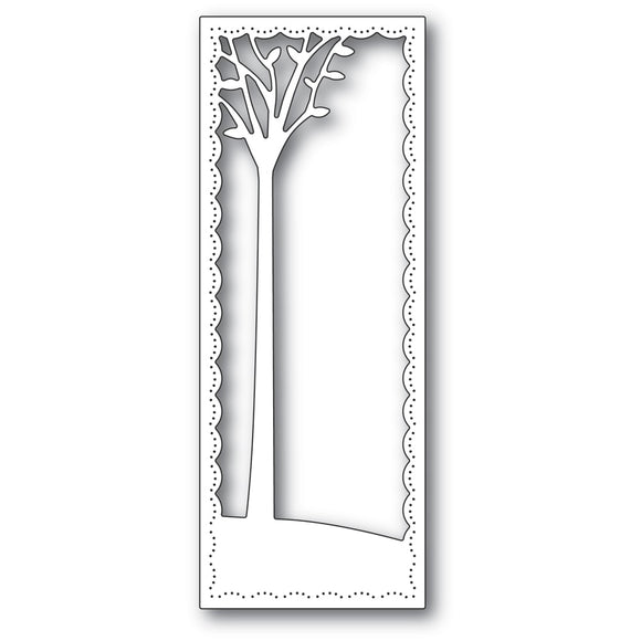 2291 Tall Skyline Tree Frame craft die