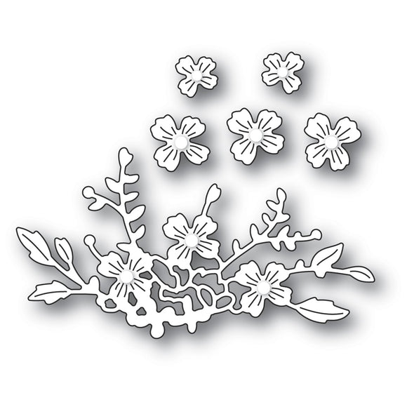 2338 Floral CLuster craft die