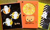 99869 Whimsy Pumpkins craft die