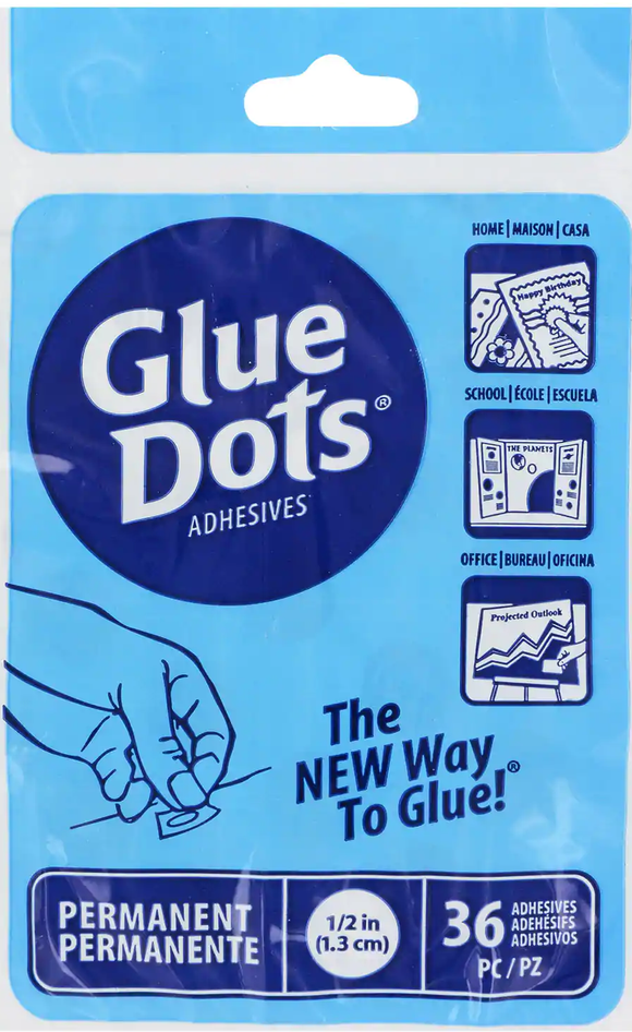 Permanent Glue Dots Dollar Pack