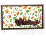 Mini Slimline Blessings Autumn Card Kit for OOAK Virtual Event