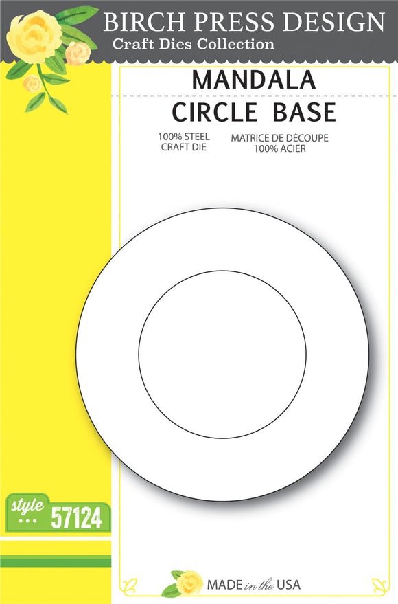 57124 Mandala Circle Base craft die