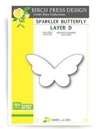 57157 Sparkler Butterfly Layer D