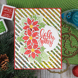 18121 StampnFoil Die Set, Holly Jolly