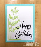 99641 Happy Birthday Friendship craft die