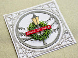 94049 Holiday Lamp Post Frame craft die