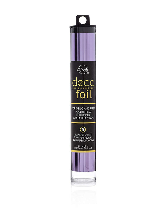 Deco Foil™ Transfer Sheets • Lilac