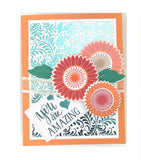 18103 StampnFoil™ Foil-Mates Detail Sheet • Graphic Sunflowers