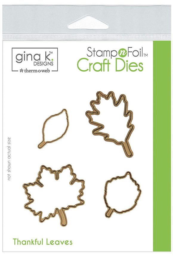 18108 StampnFoil™ Die Set • Thankful Leaves