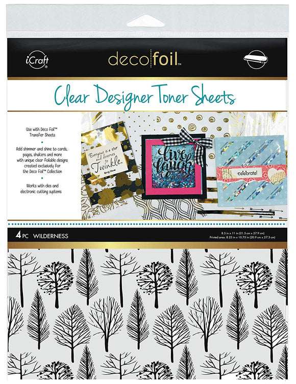 Deco Foil™ Clear Toner Sheets • Wilderness