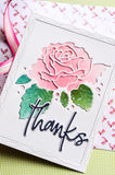 94011 Thanks Jotted Script craft die