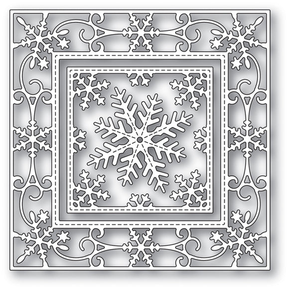 94024 Elegant Snowflake Double craft die