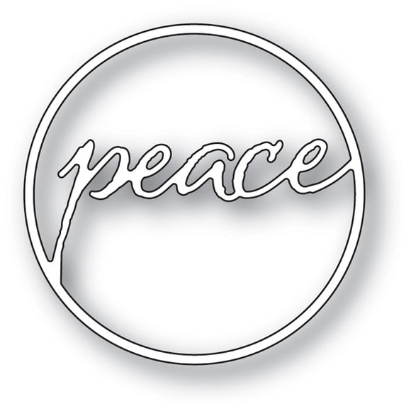 94027 Peace Circle craft die