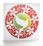 94081 Poinsettia Circle Frame craft die