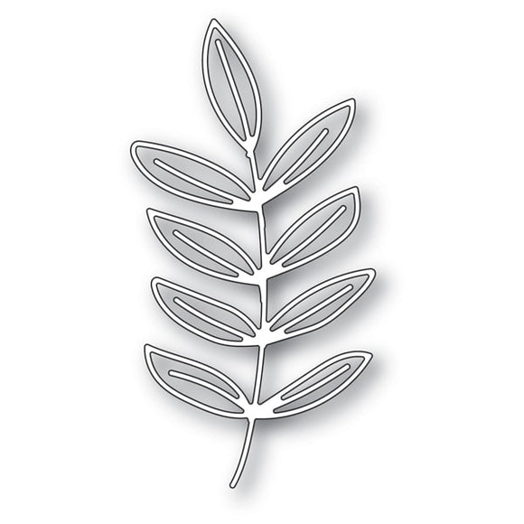 94272 Scribble Frond Outline craft die