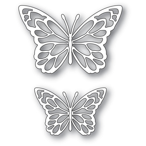 94383 Gloriosa Butterfly Duo Outlines