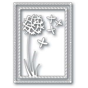 94435 Gilia Flower Frame craft die