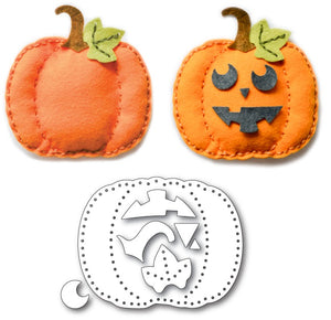 99570 Plush Pumpkin craft die