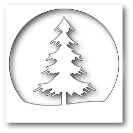 99583 Tall Evergreen Circle craft die