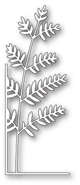 99627 Tall Fern Left Corner craft die