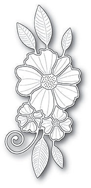 99901 Floral Cluster craft die