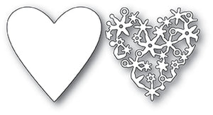 99939 Lace Cut Heart craft die