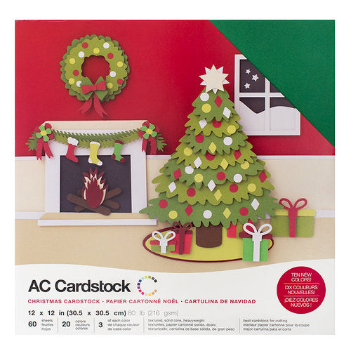 12 x 12 - CARDSTOCK PACK - Christmas